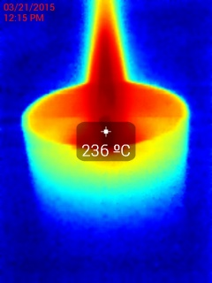 Test On Thermographic Usb Camera Seek Thermal Xr La Librairie Thermographique